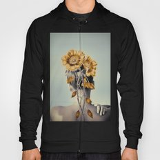 WOMAN WITH FLOWERS 2 Hoody