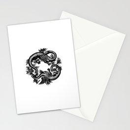 Salamander and Dragon Stationery Cards