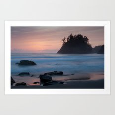 Trinidad Sunset - Another View 2 Art Print