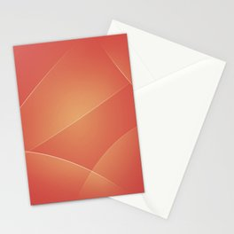 Red Damask, Valencia, Japonica & Di Serria Colors Stationery Cards
