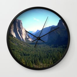 Peaceful Valley Wall Clock