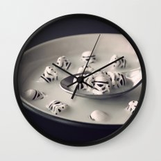 Fortified with Vitamin S Wall Clock