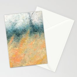The Day's Deal With The Coming Night Stationery Cards