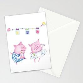 Pork chop love Stationery Cards