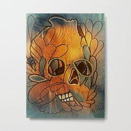 CRÁNEOS 40 Metal Print