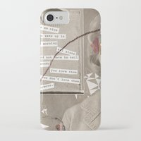 poem iPhone & iPod Cases featuring LOVE POEM by MEERA LEE PATEL