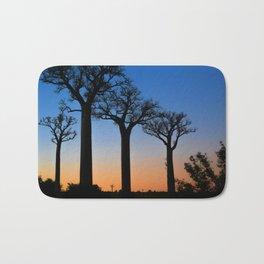 Baobab Trees in Madagascar Bath Mat