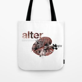 Alter Ego Flower Tote Bag