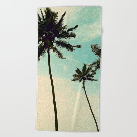 The sky's the limit Beach Towel