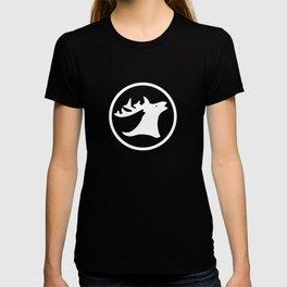 Reindeer Antler Pattern T-shirt