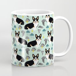 Corgi meteorologist storm chaser welsh corgi fun dog breed customary by pet friendly Coffee Mug