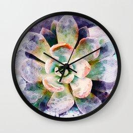 SUCCULENT - 170918/1 Wall Clock