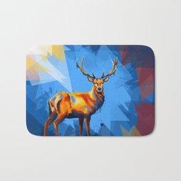 Deer in the Wilderness Bath Mat