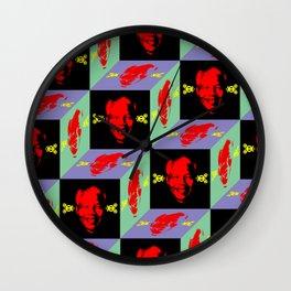 AFRICA / MANDELA no 3 Wall Clock