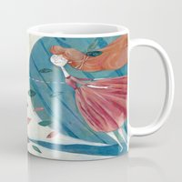 voyage Mugs featuring voyage by flaviasorr