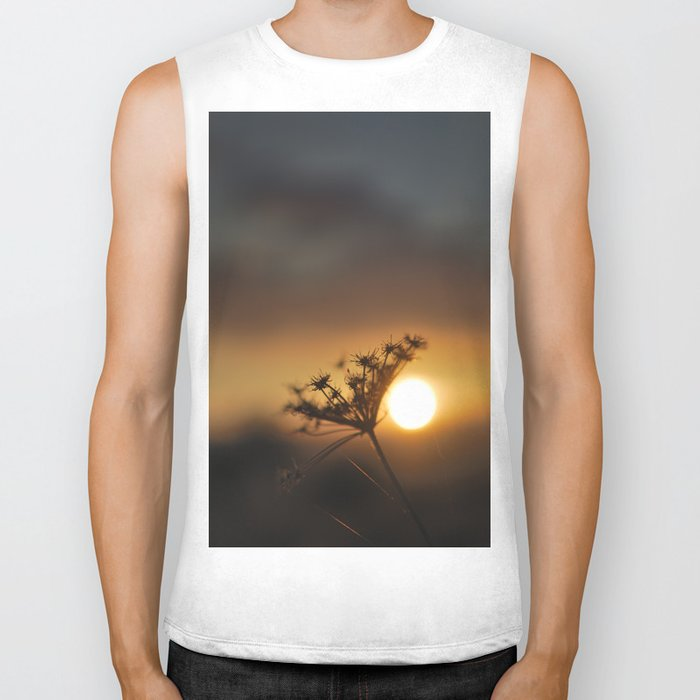 The end of the day Biker Tank
