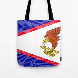 American Samoa Flag Tote Bag