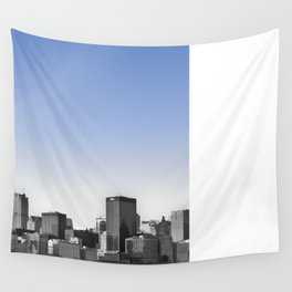 Blue Sky Chicago Wall Tapestry