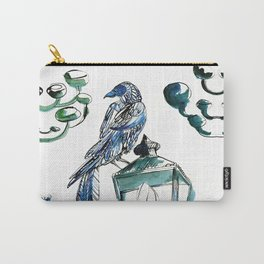 Blue crow Carry-All Pouch