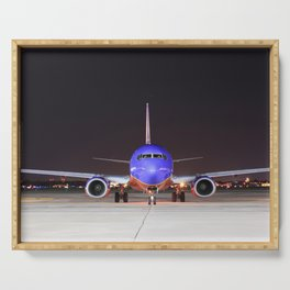 Face To Face with a Southwest Airlines Boeing 737-700 Serving Tray