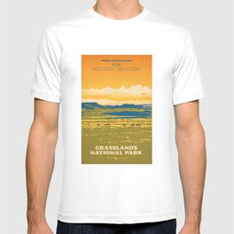 Grasslands National Park Poster T-shirt