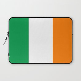 Irish national flag - Flag of the Republic of Ireland, (High Quality Authentic Version) Laptop Sleeve