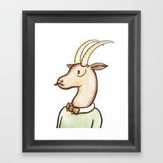 Sir Antelope Framed Art Print