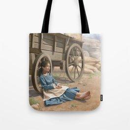 Pioneer Girl Tote Bag