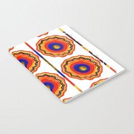 Dancing dervish pattern Notebook
