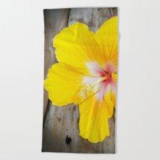 Fallen Flower Beach Towel