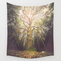 outdoor Wall Tapestries featuring The taller we are by HappyMelvin