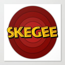 Looney Skegee Canvas Print