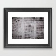 Before the que begins Framed Art Print