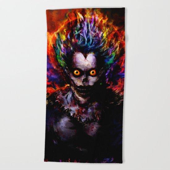 death god Beach Towel