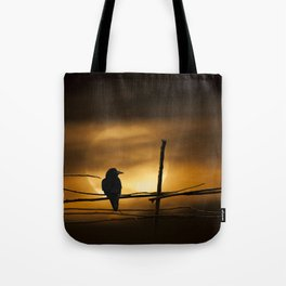 Never More Quoth The Raven Tote Bag