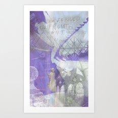 Memories of Salisbury Art Print