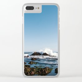 By The Seaside Clear iPhone Case