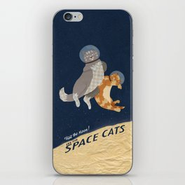 Space Cats iPhone Skin
