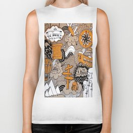 The Journey Is Part Of The Dream  Biker Tank
