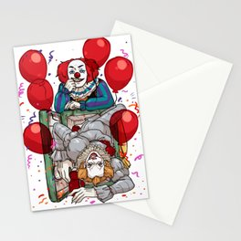 Two cents (refrigerator scenes) Stationery Cards