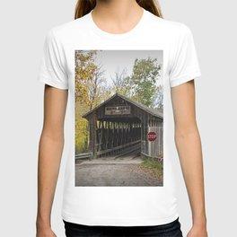 Whites Covered Bridge in Michigan T-shirt