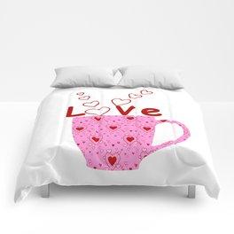 Cup Of Love Comforters