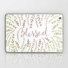 You are Blessed color degradee Laptop & iPad Skin