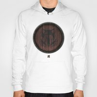 skyrim Hoodies featuring Shield's of Skyrim - Solitude by VineDesign