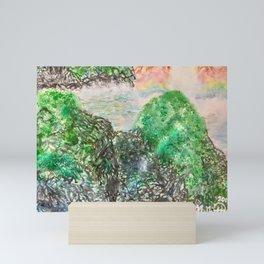 Stellar Sinkhole Mini Art Print
