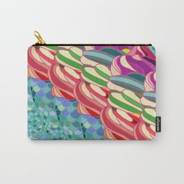 Rainbow Mermaid Pattern Carry-All Pouch