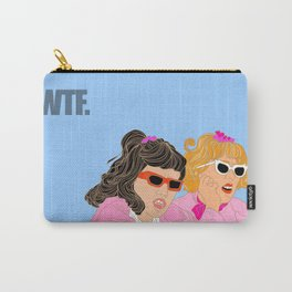 WTF - Grease Movie Vibes Got Me Like - Throwback Fan Digital Art Carry-All Pouch
