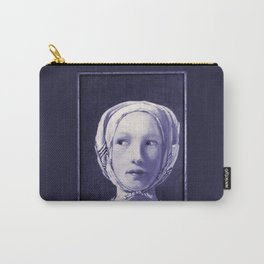 The Thief in Indigo Carry-All Pouch