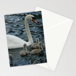 Mute Swan & Cygnets Stationery Cards