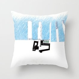 St Marks on Hudson Piers Throw Pillow